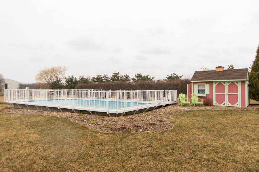 Real Estate Photography - 24410 S. Pine Ridge Drive, Monee, IL, 60449 - Pool