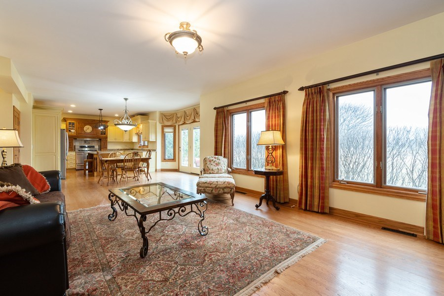 Real Estate Photography - 24410 S. Pine Ridge Drive, Monee, IL, 60449 - Family Room