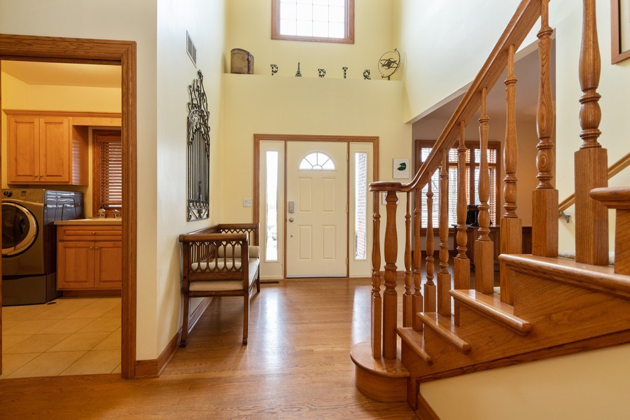 Real Estate Photography - 24410 S. Pine Ridge Drive, Monee, IL, 60449 - Foyer