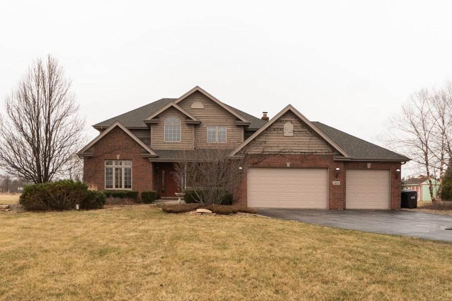 Real Estate Photography - 24410 S. Pine Ridge Drive, Monee, IL, 60449 - Front View