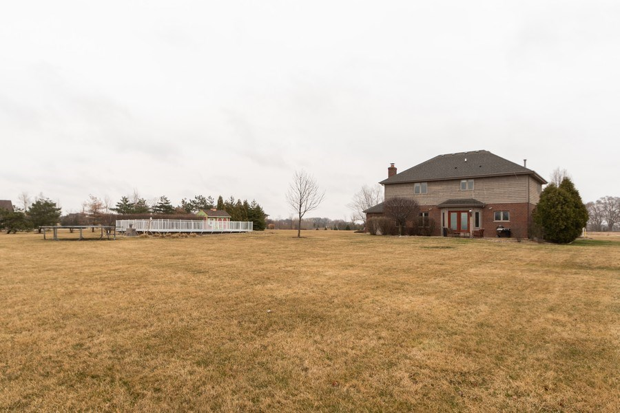 Real Estate Photography - 24410 S. Pine Ridge Drive, Monee, IL, 60449 - Rear View