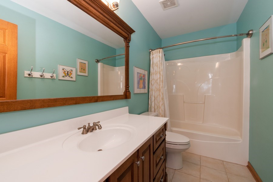 Real Estate Photography - 24410 S. Pine Ridge Drive, Monee, IL, 60449 - Bathroom