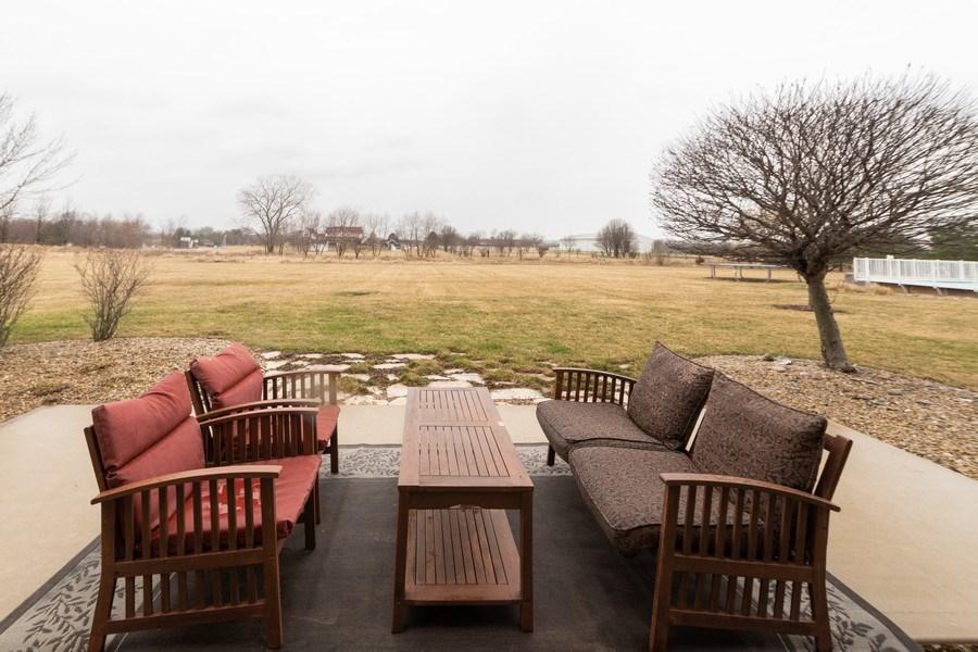 Real Estate Photography - 24410 S. Pine Ridge Drive, Monee, IL, 60449 - Patio
