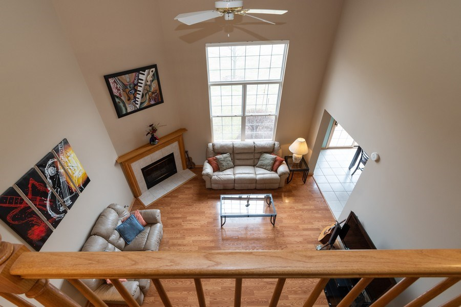 Real Estate Photography - 19444 Tramore Lane, Mokena, IL, 60448 - Loft View A