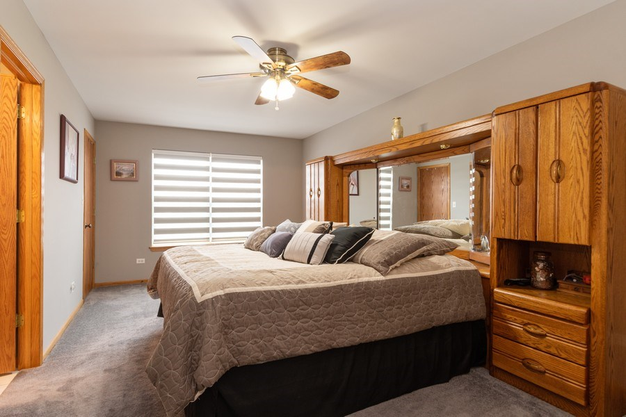 Real Estate Photography - 19444 Tramore Lane, Mokena, IL, 60448 - Master Bedroom