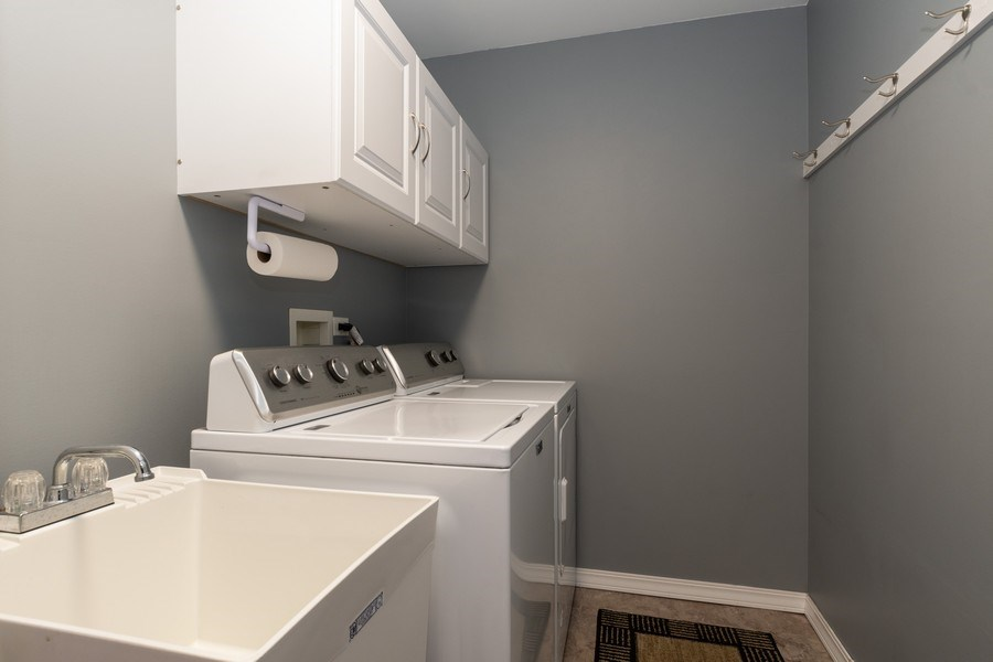 Real Estate Photography - 19444 Tramore Lane, Mokena, IL, 60448 - Laundry Room