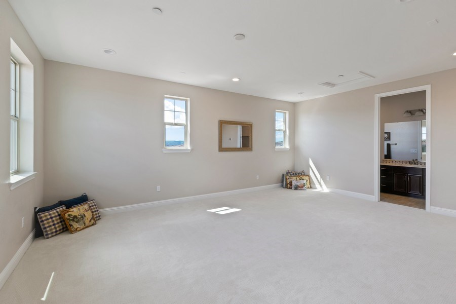 Real Estate Photography - 4367 Cherico Ln, Dublin, CA, 94568 - 4th or Junior Master Bedroom on 3rd Floor