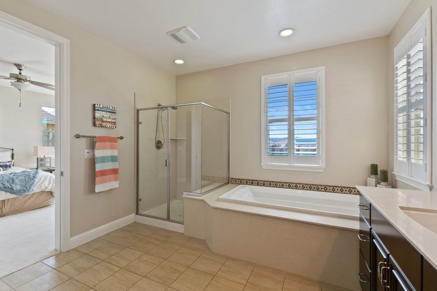 Real Estate Photography - 4367 Cherico Ln, Dublin, CA, 94568 - Master Bathroom