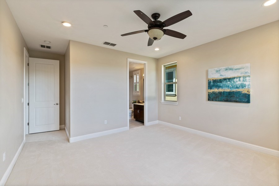 Real Estate Photography - 4367 Cherico Ln, Dublin, CA, 94568 - 3rd Bedroom on 2nd Floor