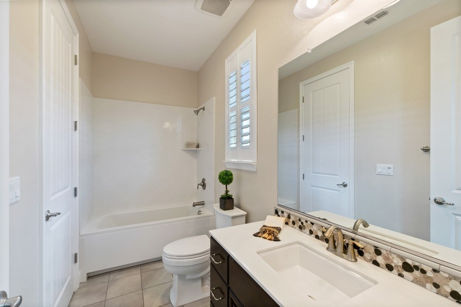 Real Estate Photography - 4367 Cherico Ln, Dublin, CA, 94568 - Bath attached to bedroom on 2nd floor