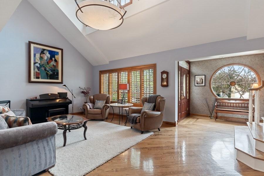 Real Estate Photography - 1510 Laverne Avenue, Park Ridge, IL, 60068 - Living Room