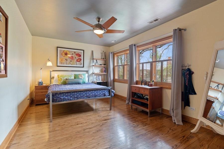 Real Estate Photography - 1510 Laverne Avenue, Park Ridge, IL, 60068 - Bedroom 2