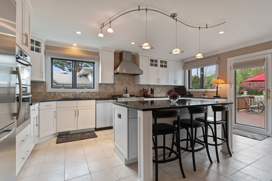 Real Estate Photography - 1510 Laverne Avenue, Park Ridge, IL, 60068 - Kitchen