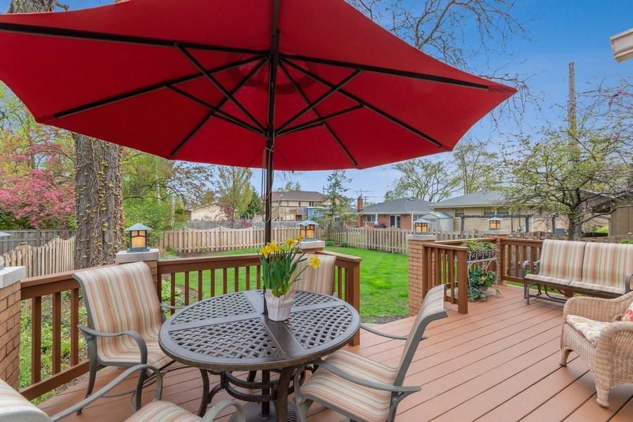 Real Estate Photography - 1510 Laverne Avenue, Park Ridge, IL, 60068 - Back Yard