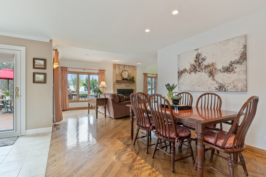 Real Estate Photography - 1510 Laverne Avenue, Park Ridge, IL, 60068 - Breakfast Area