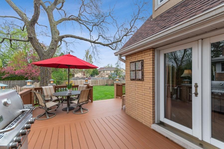 Real Estate Photography - 1510 Laverne Avenue, Park Ridge, IL, 60068 - Deck