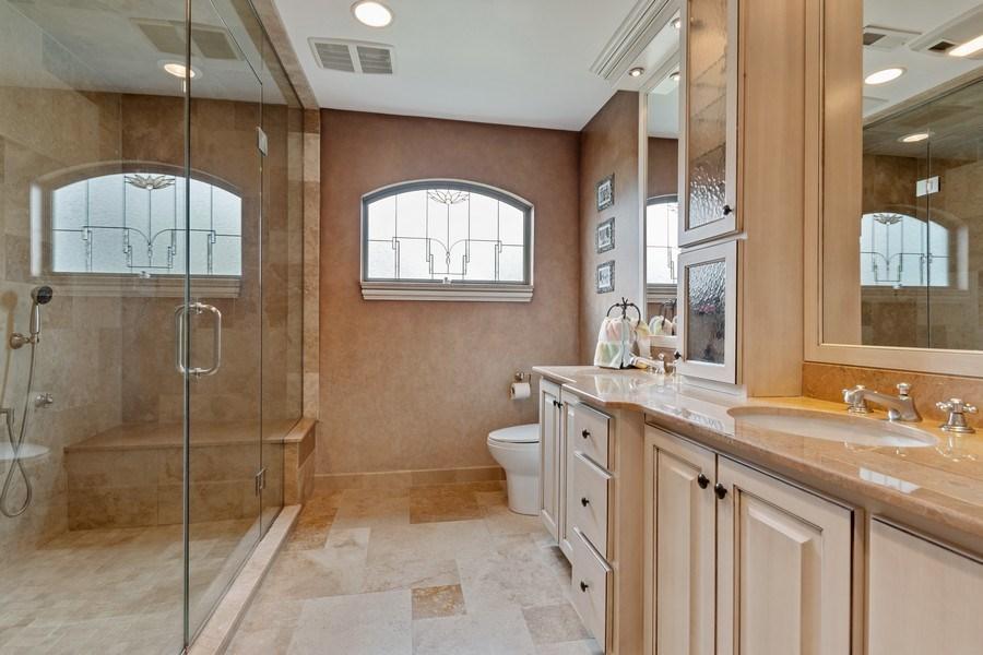 Real Estate Photography - 1510 Laverne Avenue, Park Ridge, IL, 60068 - Bathroom with Steam, Sauna, Body Sprays Shower