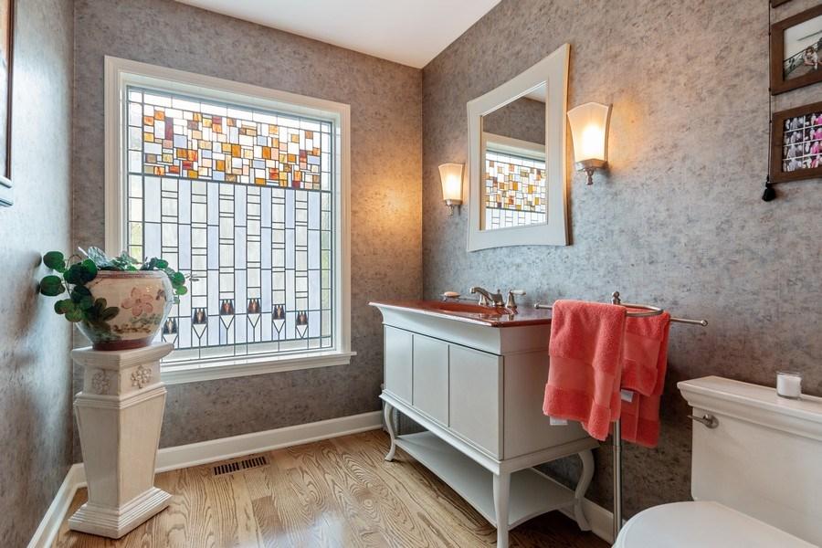 Real Estate Photography - 1510 Laverne Avenue, Park Ridge, IL, 60068 - Powder Room