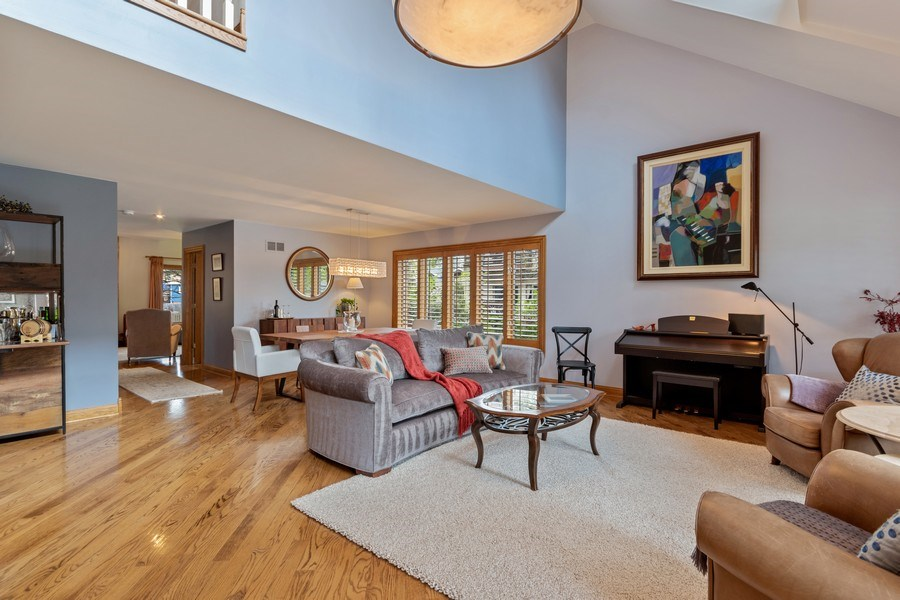 Real Estate Photography - 1510 Laverne Avenue, Park Ridge, IL, 60068 - Living Room / Dining Room