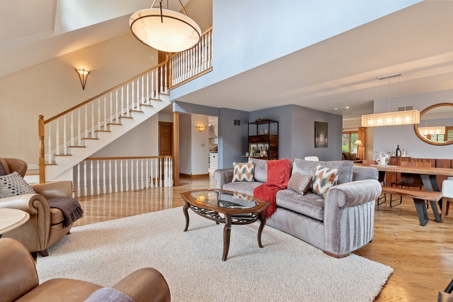 Real Estate Photography - 1510 Laverne Avenue, Park Ridge, IL, 60068 - Living Room/Dining Room