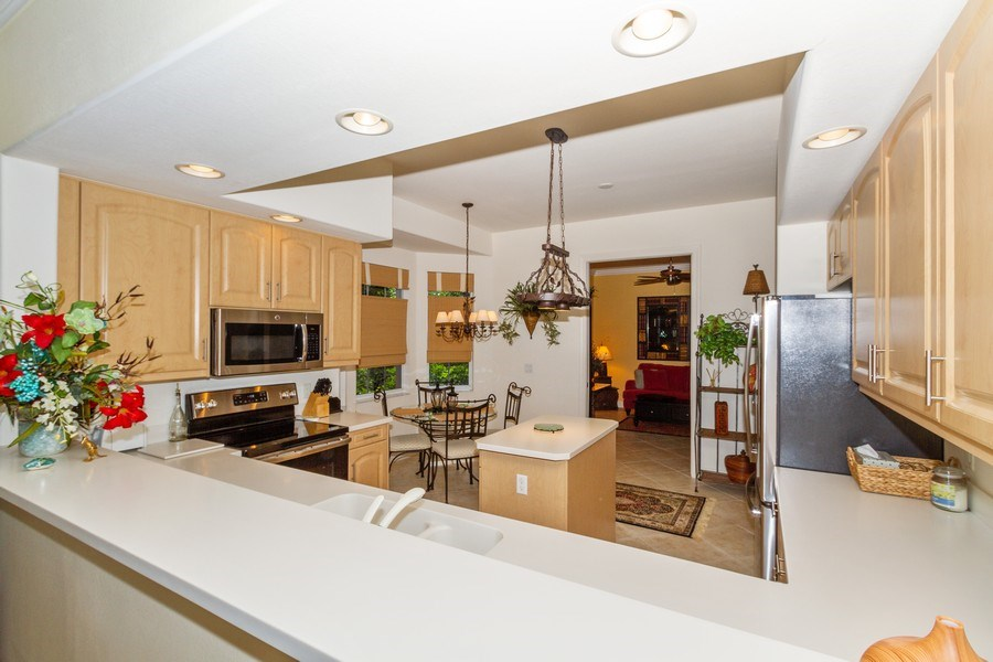 Real Estate Photography - 806 Regency Reserve Circle #902, Naples, FL, 34119 - Kitchen