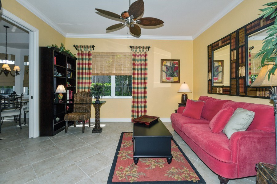 Real Estate Photography - 806 Regency Reserve Circle #902, Naples, FL, 34119 - Spare Room used as Office, Library, Media Room or