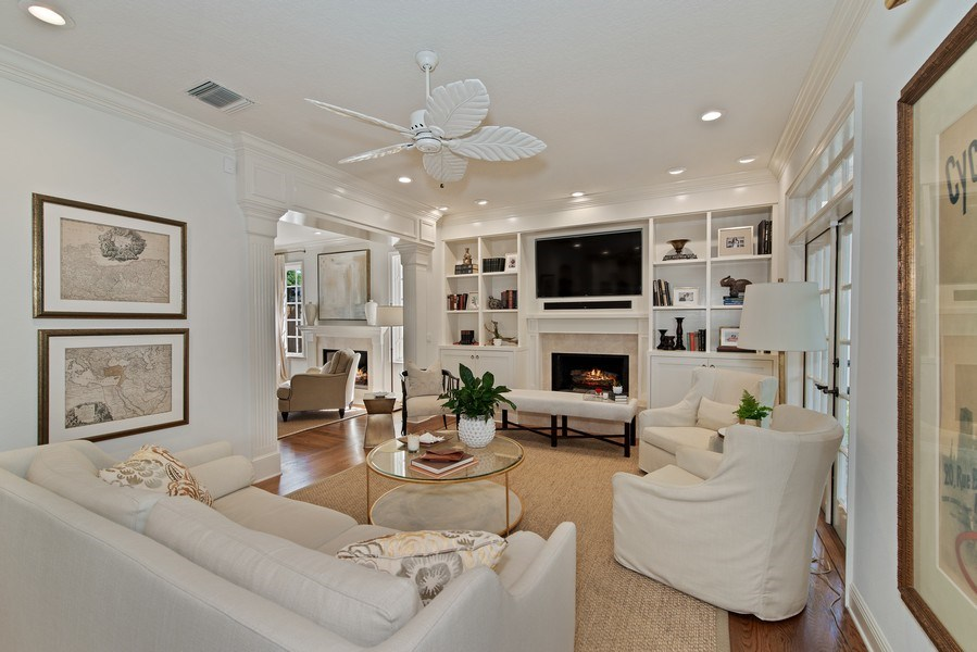 Real Estate Photography - 1590 Woodland Ave, Winter Park, FL, 32789 - Family Room