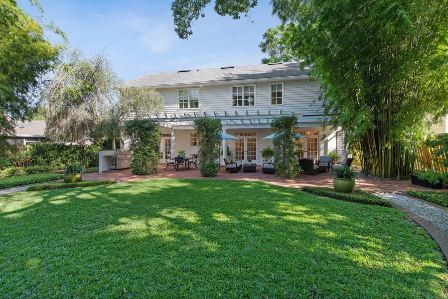 Real Estate Photography - 1590 Woodland Ave, Winter Park, FL, 32789 - Rear View