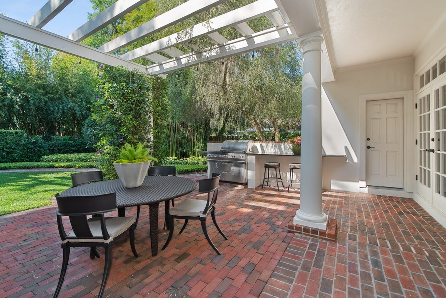 Real Estate Photography - 1590 Woodland Ave, Winter Park, FL, 32789 - Patio