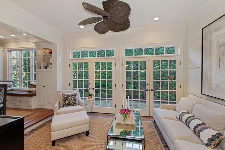 Real Estate Photography - 1590 Woodland Ave, Winter Park, FL, 32789 - Sun Room