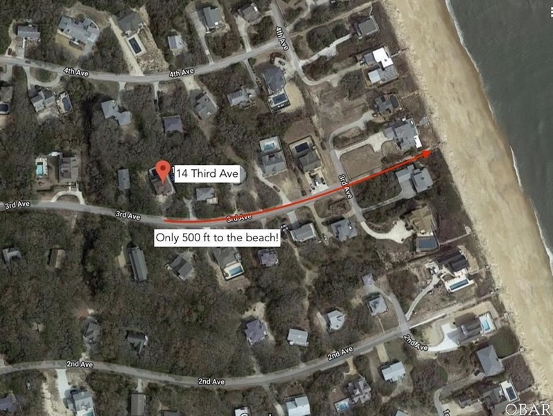 Real Estate Photography - 14 3rd Ave, Lot 17, Southern Shores, NC, 27949 - Location 4