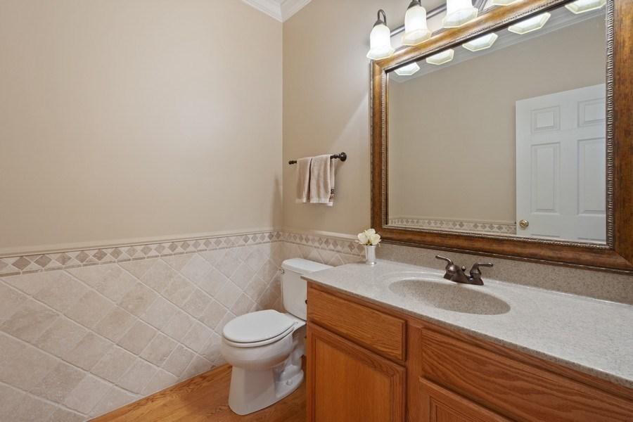 Real Estate Photography - 28308 W Savannah Trl, Lake Barrington, IL, 60010 - Powder Room
