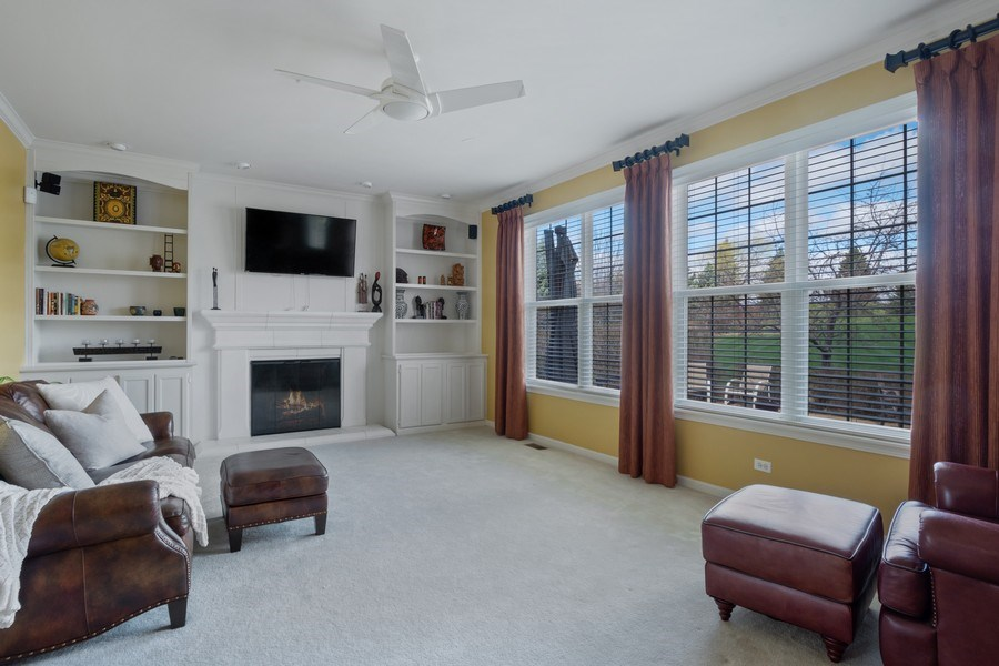 Real Estate Photography - 28308 W Savannah Trl, Lake Barrington, IL, 60010 - Family Room
