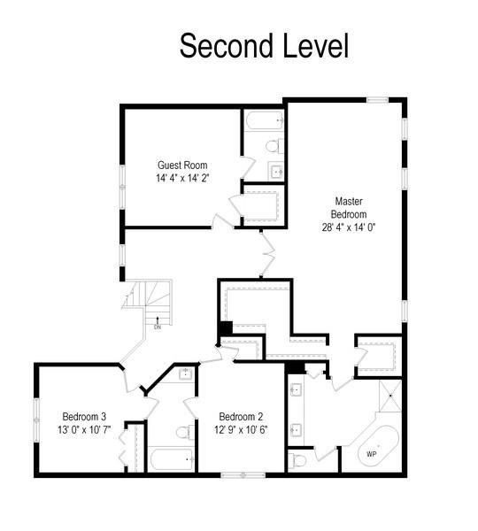 Real Estate Photography - 28308 W Savannah Trl, Lake Barrington, IL, 60010 - Floor Plan
