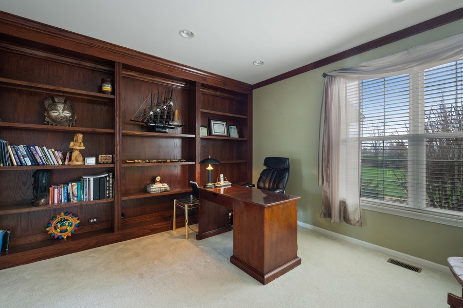 Real Estate Photography - 28308 W Savannah Trl, Lake Barrington, IL, 60010 - Office