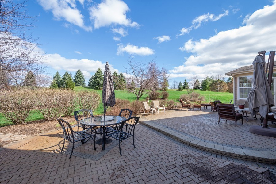 Real Estate Photography - 28308 W Savannah Trl, Lake Barrington, IL, 60010 - Patio