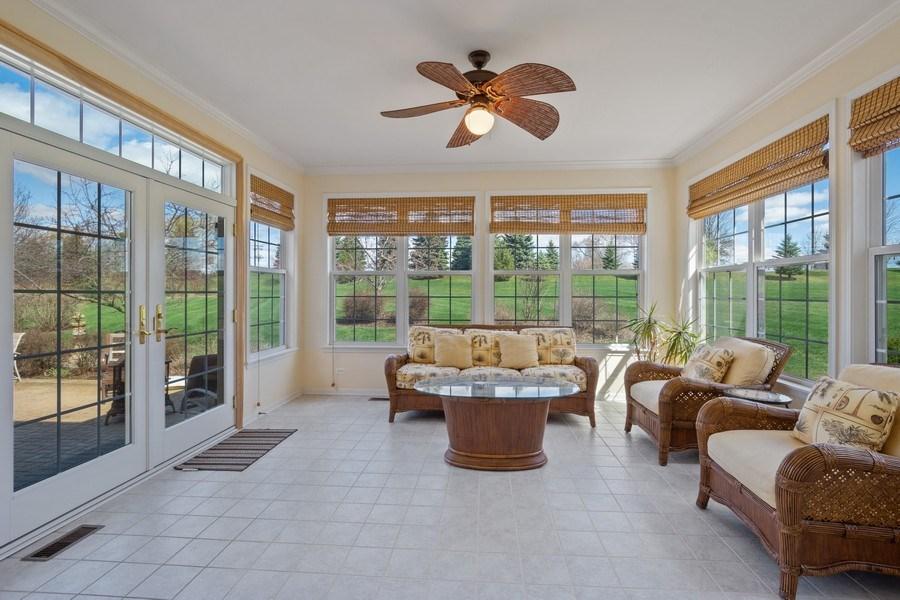 Real Estate Photography - 28308 W Savannah Trl, Lake Barrington, IL, 60010 - Sun Room
