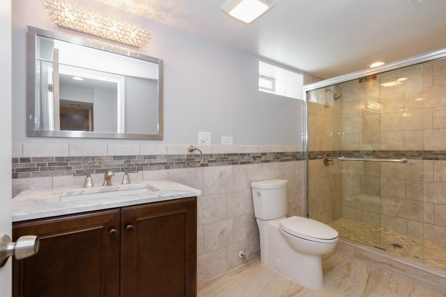 Real Estate Photography - 1038 W 109th St, Chicago, IL, 60643 - 3rd Bathroom