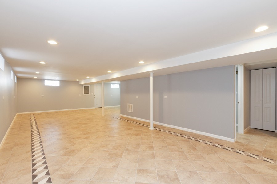 Real Estate Photography - 1038 W 109th St, Chicago, IL, 60643 - Lower Level