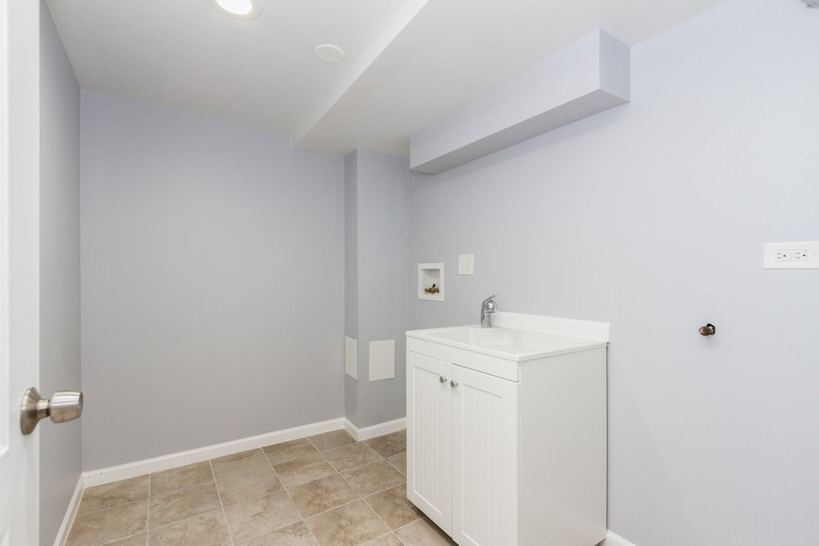 Real Estate Photography - 1038 W 109th St, Chicago, IL, 60643 - Laundry Room