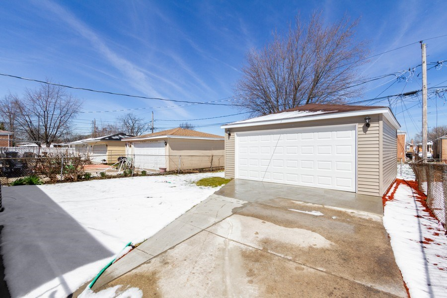 Real Estate Photography - 1038 W 109th St, Chicago, IL, 60643 - Rear View