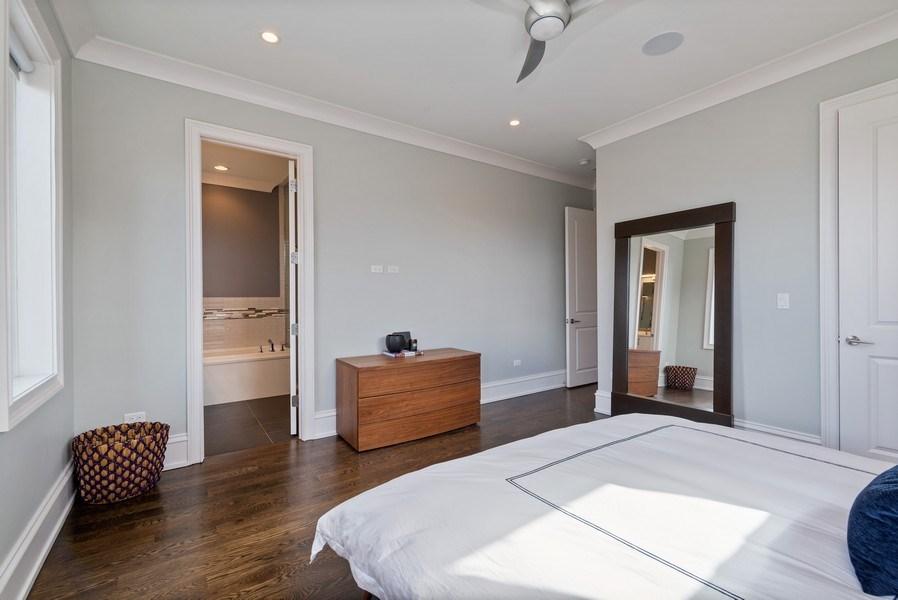 Real Estate Photography - 722 W. Aldine #4W, Chicago, IL, 60657 - Master Bedroom