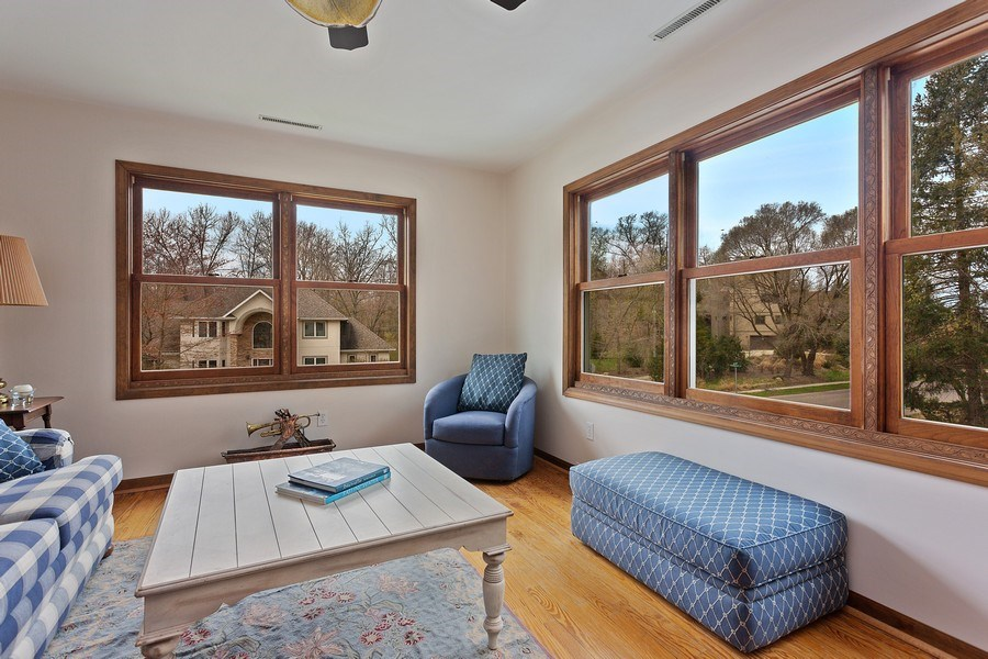Real Estate Photography - 11 S. Broadway, Beverly Shores, IN, 46301 - Living Room