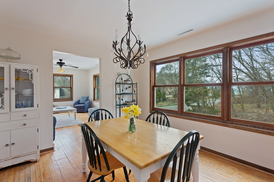 Real Estate Photography - 11 S. Broadway, Beverly Shores, IN, 46301 - Dining Room