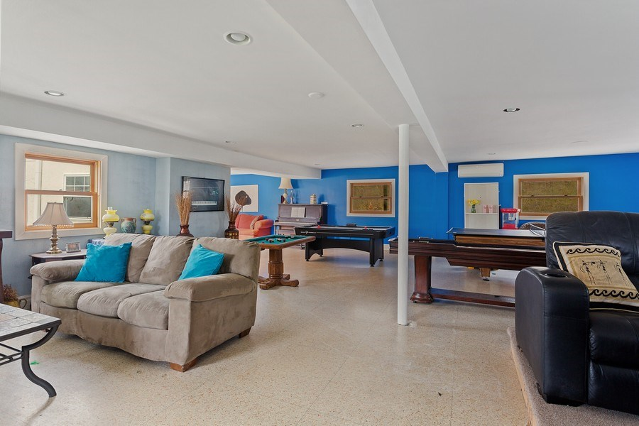 Real Estate Photography - 11 S. Broadway, Beverly Shores, IN, 46301 - Rec Room
