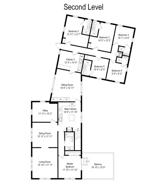 Real Estate Photography - 11 S. Broadway, Beverly Shores, IN, 46301 - Floor Plan