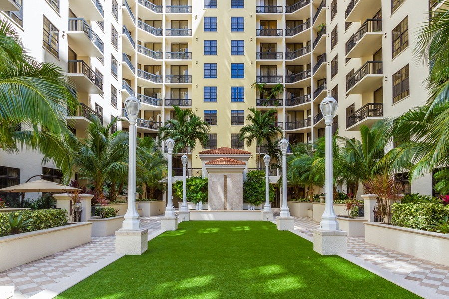 Real Estate Photography - 701 S. Olive Avenue, Unit 119, West Palm Beach, FL, 33401 - View