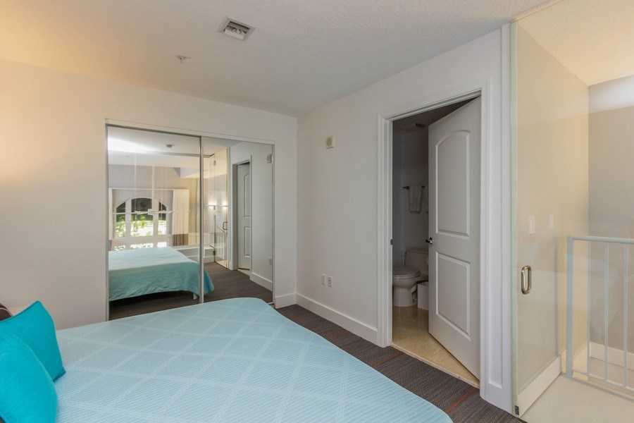 Real Estate Photography - 701 S. Olive Avenue, Unit 119, West Palm Beach, FL, 33401 - Master Bedroom