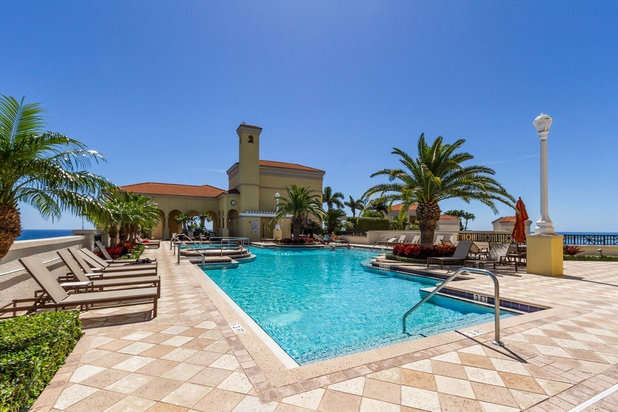 Real Estate Photography - 701 S. Olive Avenue, Unit 119, West Palm Beach, FL, 33401 - Pool