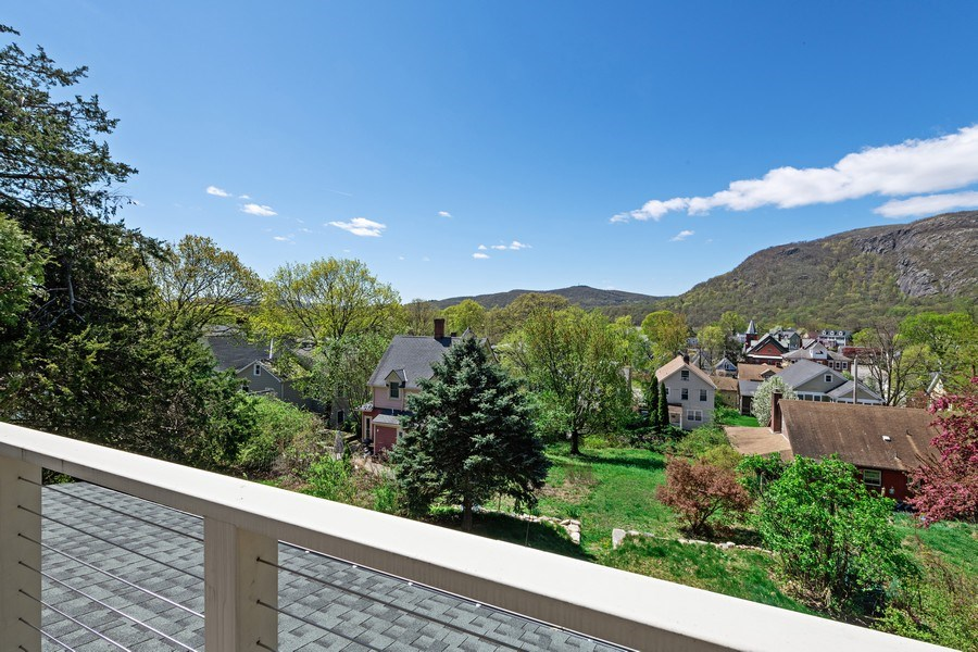 Real Estate Photography - 15 High St, Cold Spring, NY, 10516 - Balcony